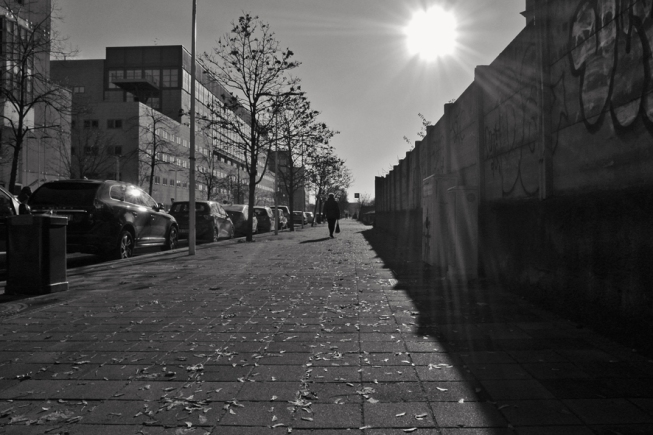 208 Cammino baciato dal sole, Milano, late November 2015