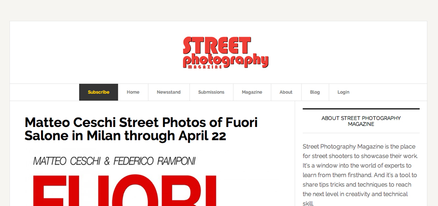 Street Photogrpahy Magazine